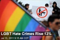 LGBT Hate Crimes Rise 13%