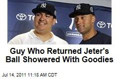 Christian Lopez Gets $50K, Own Baseball Card After Returning Derek Jeter's Big-Hit Baseball
