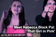 Benni Cinkle: That Girl in Pink From Rebecca Black Video Handles Fame With Maturity
