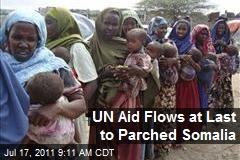 UN Aid Flows at Last to Parched Somalia