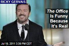 Ricky Gervais on the 10th Anniversary of 'The Office': It's Funny Because It's Real