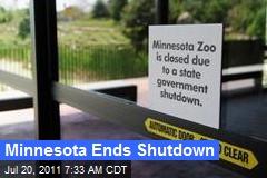 Minnesota Ends Shutdown