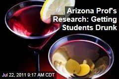 Arizona State University Professor William Corbin's Research: Getting Students Drunk