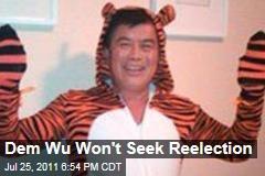 David Wu Sex Scandal: House Democrat Won't Seek Reelection
