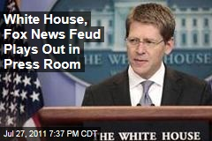 Jay Carney, Ed Henry of Fox Spar for Second Consecutive Day