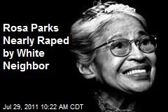 Rosa Parks Nearly Raped by White Neighbor