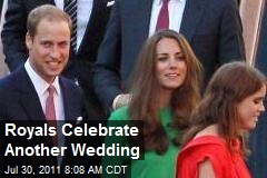 Royals Celebrate Another Wedding
