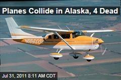 Alaska Plane Collision: 4 Dead as Cessnas Hit