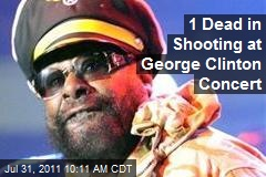 1 Dead in Shooting at George Clinton Concert