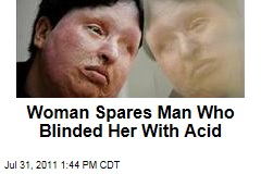 Ameneh Bahrami, Woman Blinded by Acid, Spares Attacker Majid Movahedi the Same Fate