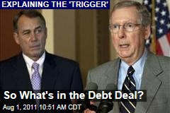 So What's in the Debt Deal? Ezra Klein Explains
