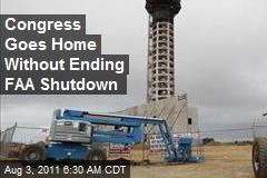 No Deal Reached to End FAA Shutdown