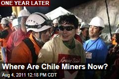 Chilean Miners: A Year After Collapse, Nearly All Struggle to Make Living