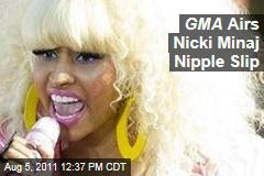 Nicki Minaj Nipple Slip Airs on Good Morning America