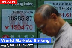 Asian Markets in Tailspin