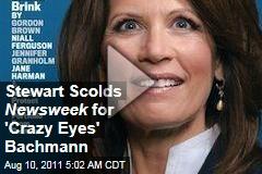 Jon Stewart Scolds Newsweek for Michele Bachmann Cover