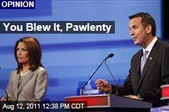 Tim Pawlenty Blew it in Last Night's Debate: Steve Kornacki