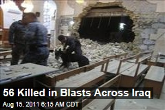 Explosions Across Iraq: Kut, Najaf, Kirkut, Tikrit, Diyala Targeted