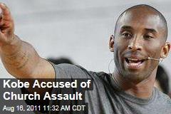 Kobe Bryant Accused of Church Assault
