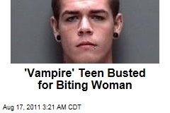 'Vampire' Texas Teen Lyle Bensley Busted for Biting Woman