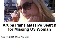 Aruba Plans Massive Search for Missing US Woman Robyn Gardner