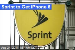 Sprint to Get iPhone 5