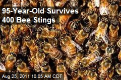 95-Year-Old Survives 400 Bee Stings