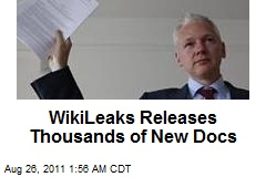 Wikileaks Releases Thousands of New Docs
