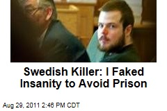 Swedish Killer Mijailo Mijailovic: I Faked Insanity to Avoid Prison Sentence for Murdering Anna Lindh
