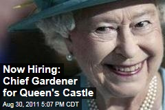 Queen Elizabeth II Hiring Chief Gardener for Balmoral