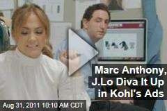 VIDEOS: Jennifer Lopez, Marc Anthony in New Kohl's Commercials