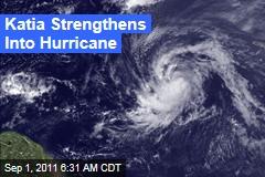 Hurricane Katia Now a Category 1 Storm