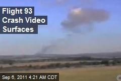 Flight 93 Crash Video Surfaces