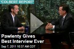 Stephen Colbert Interviews Tim Pawlenty, and It's Interesting
