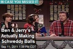 Ben & Jerry's Actually Making Schweddy Balls