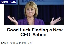 Good Luck Finding a New CEO, Yahoo