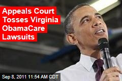 Federal Court Tosses Virginia ObamaCare Lawsuits
