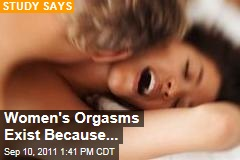 Female Orgasm Exists for Unique Reason: Study