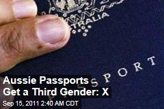 Aussies Add Third Gender to Passports