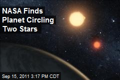 NASA Finds Planet Circling Two Stars