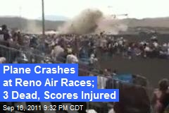 Plane Crashes During Reno Air Races