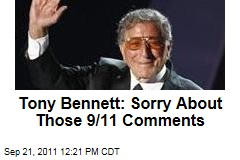 Tony Bennett Apologizes on Facebook for Comments About 9/11 Attacks
