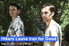 Hikers Josh Fattal and Shane Bauer Leave Iran for Good
