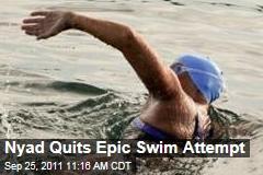 Diana Nyad Quits Epic Swim Attempt
