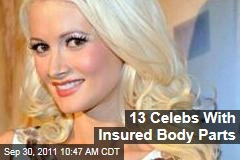 Holly Madison and More Celebrities With Insured Body Parts