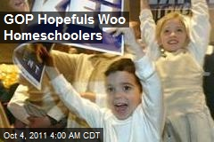 GOP Hopefuls Woo Homeschoolers