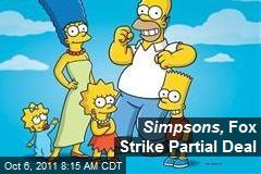 Simpsons, Fox Strike Partial Deal