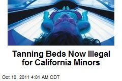 Tanning Beds Now Illegal for Calif. Minors