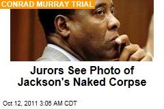 Michael Jackson Autopsy Photos Shown to Jury