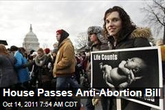 'Protect Life Act' Passes House
